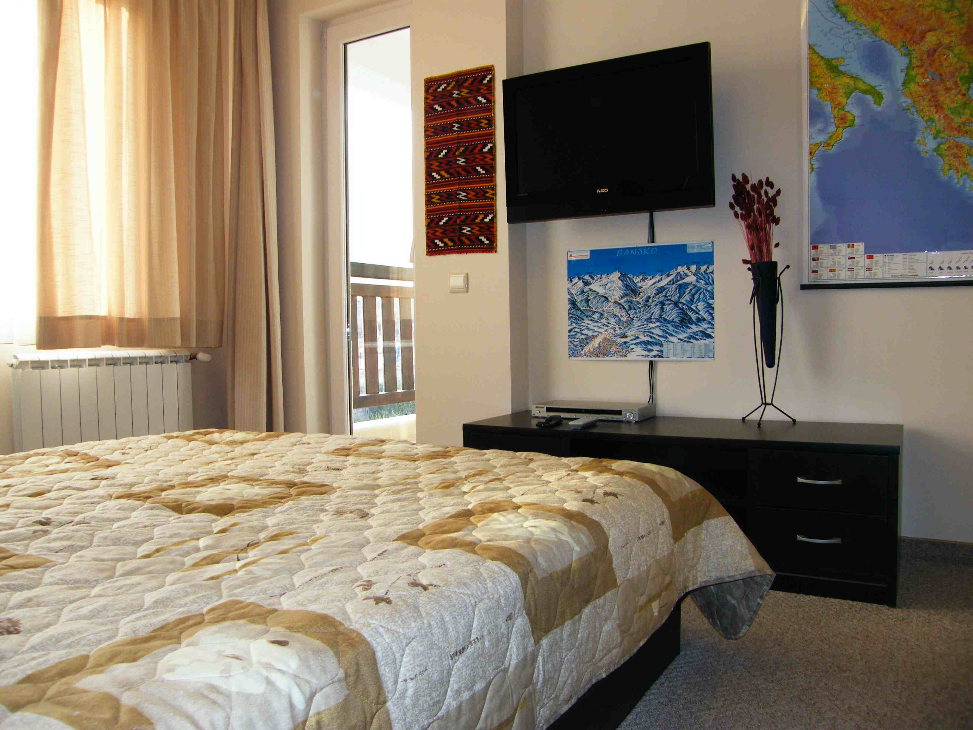probably the best equipped apartment in bansko